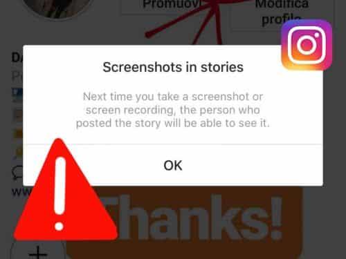 Screenshot delle Instagram Stories: 3 metodi per non farsi beccare.
