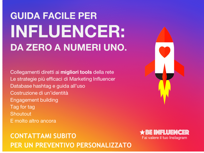 BE_INFLUENCER_GUIDA